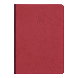 Age Bag Clothbound Notebook A5 Dotted Red