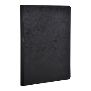 Age Bag Clothbound Notebook A5 Lined Black