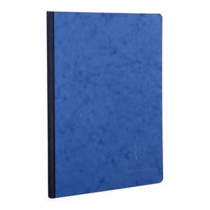 Age Bag Clothbound Notebook A5 Blank Blue