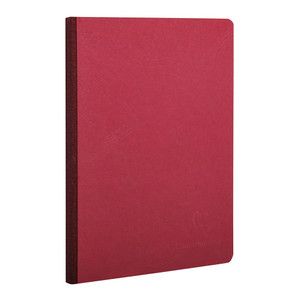 Age Bag Clothbound Notebook A5 Blank Red