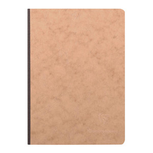 Age Bag Clothbound Notebook A5 Blank Tobacco