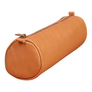 Age Bag Pencil Case Round Tan