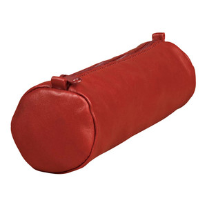 Age Bag Pencil Case Round Red