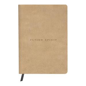 Flying Spirit Clothbound Journal A5 Lined Beige