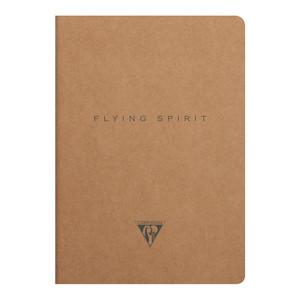 Flying Spirit Sewn Notebook A5 Asstd Kraft