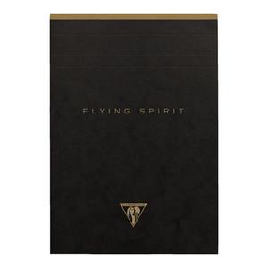 Flying Spirit Clothbound Notepad A5 Asstd Black