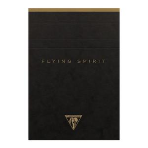 Flying Spirit Clothbound Notepad A6 Asstd Black