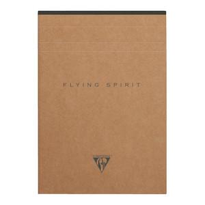 Flying Spirit Clothbound Notepad A5 Asstd Kraft