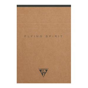 Flying Spirit Clothbound Notepad A6 Asstd Kraft