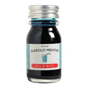 Herbin Writing Ink 10ml Diabolo Menthe