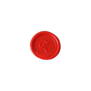 Herbin Wooden Handle Round Seal Copperplate Z