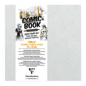 Clairefontaine Comic Book 220x220mm 220g 32sh