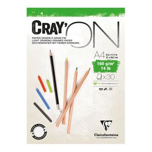 CrayON Pad A4 160g 30sh