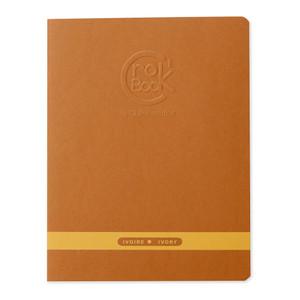 CrocBOOK Notebook Ivory 17x22cm Assorted