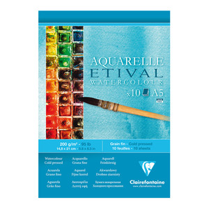 Etival Cold Press Pad A5 200g 10sh