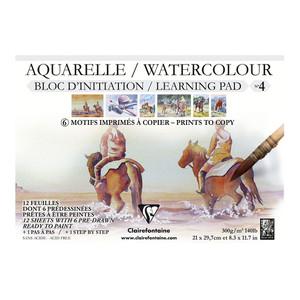 Etival Pad Horses A4 300g 12sh