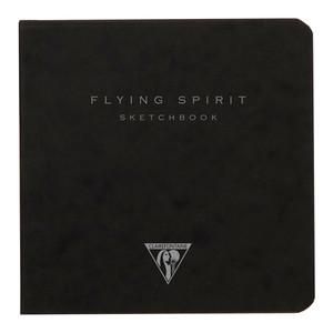 Flying Spirit Sketch Book 10.5x10.5cm Black