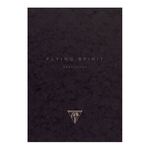 Flying Spirit Sketch Book 19x25cm Black