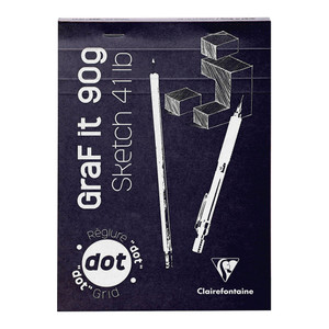 GRAFiT Pad A5 Dotted Assorted