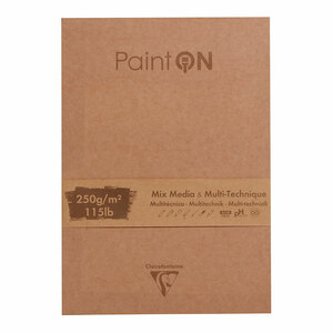 PaintON Pad Assorted 17.6x25cm 50sh