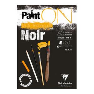 PaintON Pad Black A3 30sh