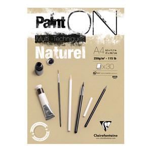PaintON Pad Natural A4 30sh