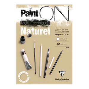 PaintON Pad Natural A5 30sh