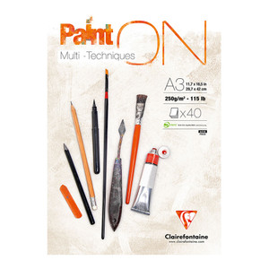 PaintON Pad White A3 40sh