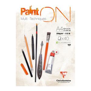 PaintON Pad White A4 40sh