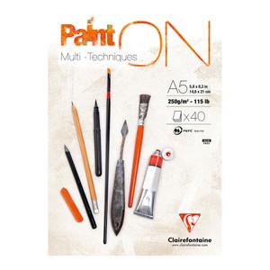 PaintON Pad White A5 40sh