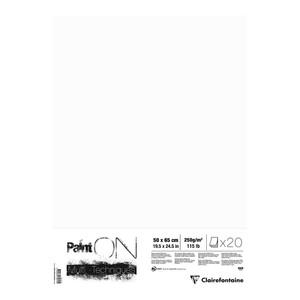 PaintON Paper White 50x65cm 20 Pack