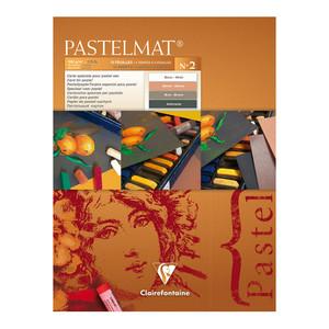 Pastelmat Pad No. 2 18x24cm 12sh