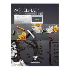 Pastelmat Pad No. 6 Anthracite 18x24cm