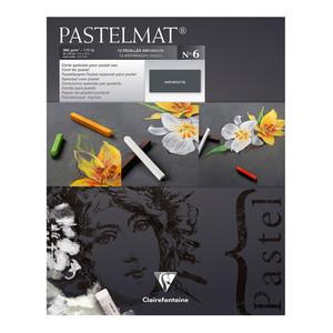 Pastelmat Pad No. 6 Anthracite 24x30cm