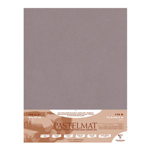 Pastelmat Paper 50x70cm Dark Grey Pack of 5