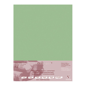 Pastelmat Paper 50x70cm Light Green Pack of 5