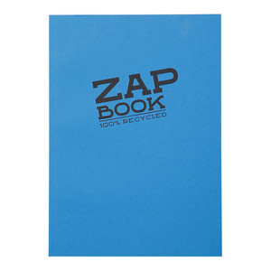 Zap Book A4 Recycled Assorted