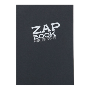 Zap Book A5 Recycled Black