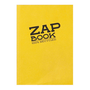 Zap Book A6 Recycled Assorted