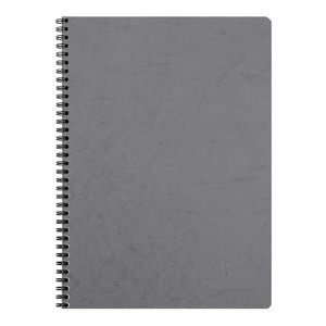 Age Bag Spiral Notebook A4 Lined Grey