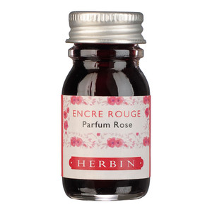 Herbin Scented Ink 10ml Red Rose Scent
