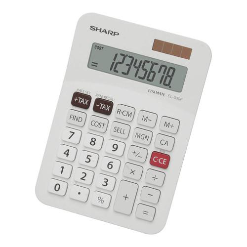 Sharp EL-330FB Twin Power Desktop Tax Calculator
