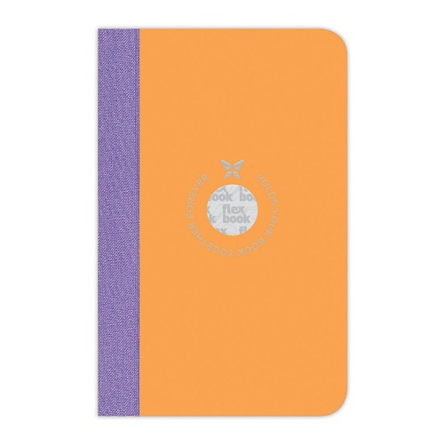 Flexbook Smartbook Notebook Pocket Ruled Orange/Purple