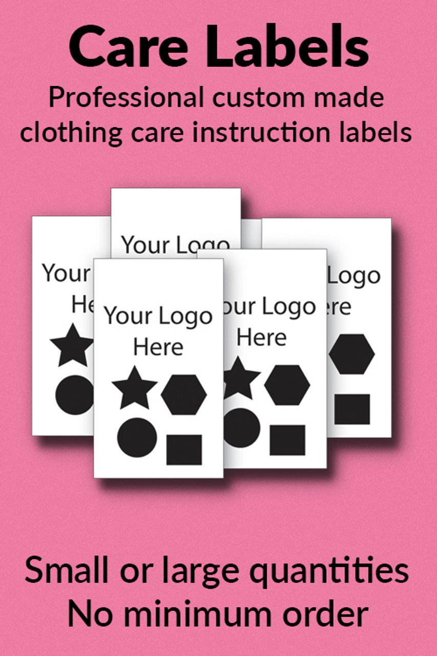 CUSTOM Sew On Labels