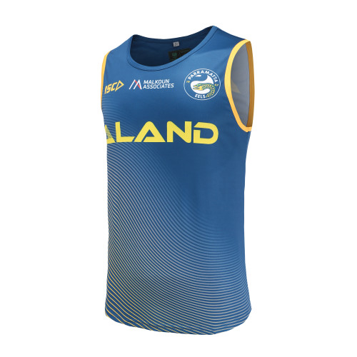 Parramatta Eels 2019 ISC Mens Training Singlet Navy