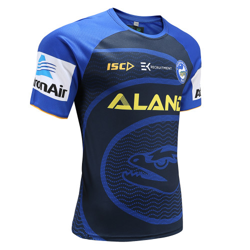 Parramatta Eels 2020 ISC Mens Training Tee Navy