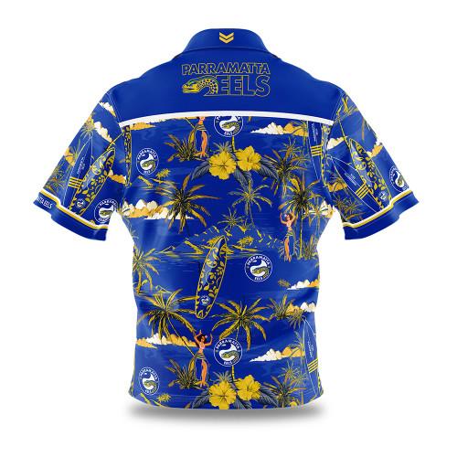 Parramatta Eels 2020 Mens Hawaiian Shirt