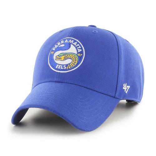 Parramatta Eels 47 Brand MVP Snapback Cap