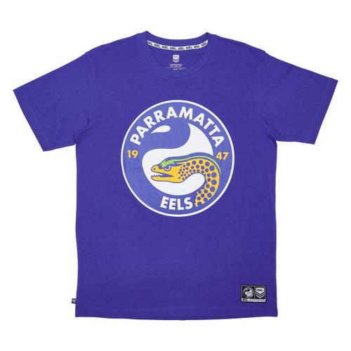 Parramatta Eels 2021 Outerstuff Mens Logo Tee
