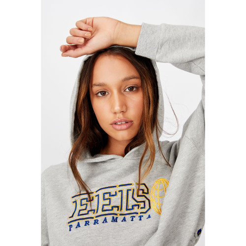 Parramatta Eels 2020 CottonOn Womens Chopped Gathered Hoody